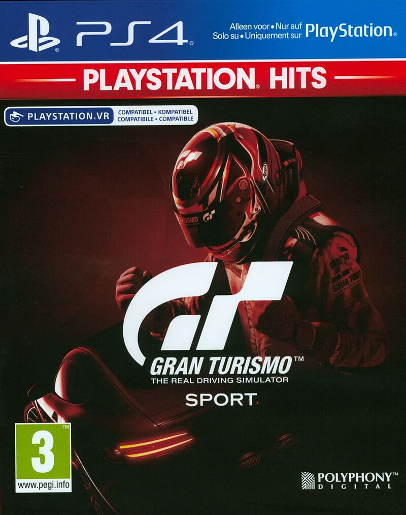 PlayStation Hits: Gran Turismo Sport [PS4] (D/F/I)