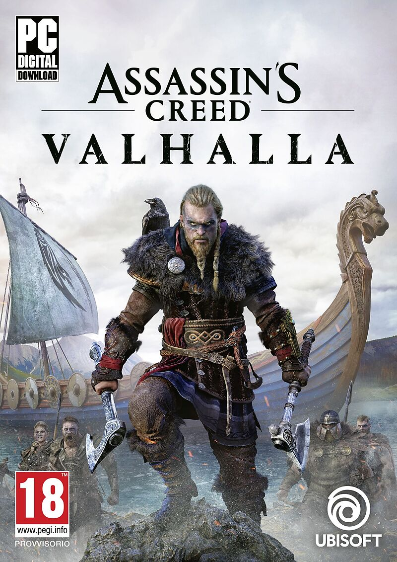 Assassin's Creed - Valhalla [PC] [Code in a box] (D)