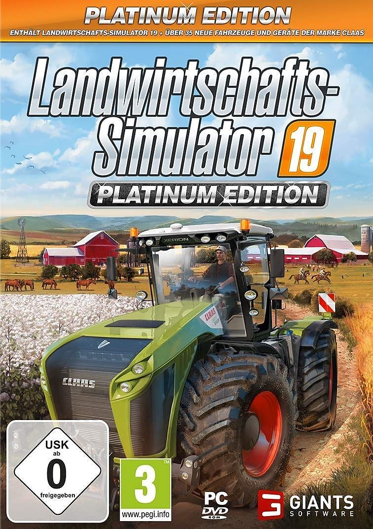 Landwirtschafts-Simulator 19 - Platinum Edition [DVD] [PC] (D)